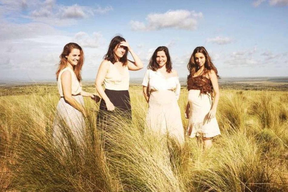 Die vier Hauptdarstellerinnen des Films.