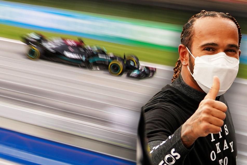 Formel 1 in Spanien: Lewis Hamilton gewinnt knappes Rennen dank richtiger Strategie