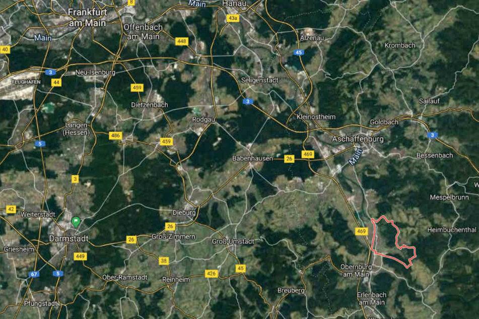Die Tat passierte im unterfränkischen Kleinwallstadt.