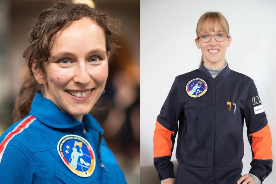 Suzanna Randall (links) und Insa Thiele-Eich teilen ihren Traum vom All.