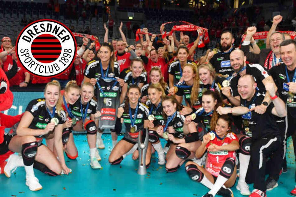 DSC im siebten Pokalhimmel: Auf dieses Team kann ganz Dresden stolz sein!