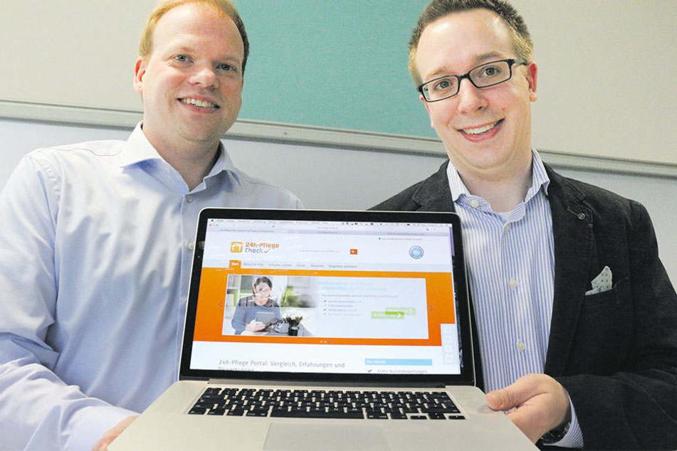 Christian Hosing (li.) und Sebastian Leitner wollen ihre Idee nun auch in Österreich groß rausbringen.