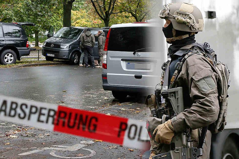 Bei der Razzia wurde der 37 Jahre alte Terrorverdächtige geschnappt. (Symbolbild)