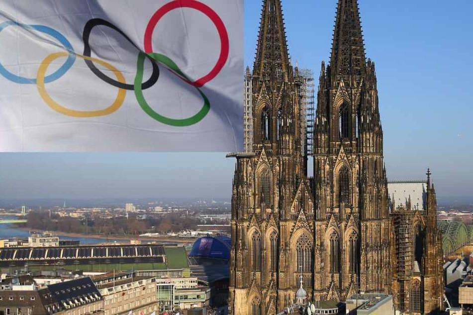 """Auch Köln wird Olympia-Standort, wenn die Initiative """"Rhein Ruhr Cíty 2032"""" erfolgreich sein sollte."""