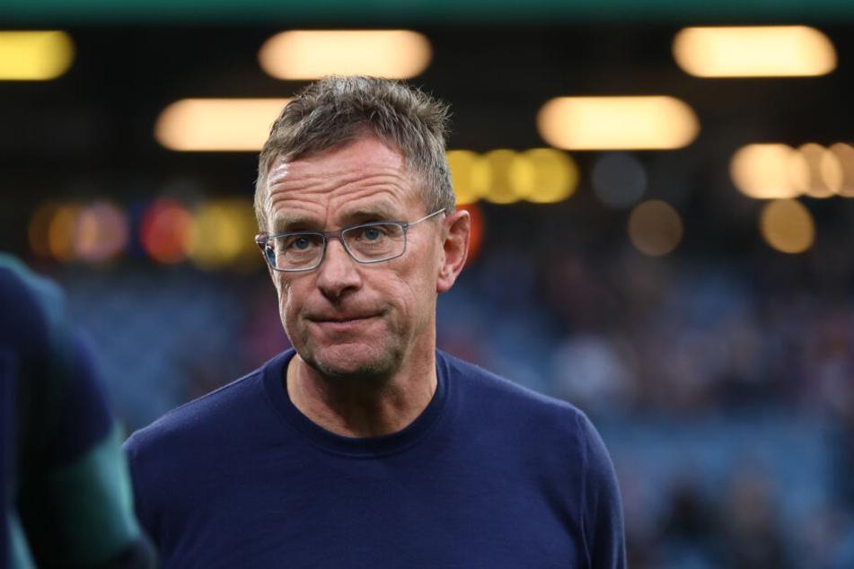 Der Mann, der bei RB alles unter Kontrolle hat: Ralf Rangnick vor dem Halbfinale in Hamburg.