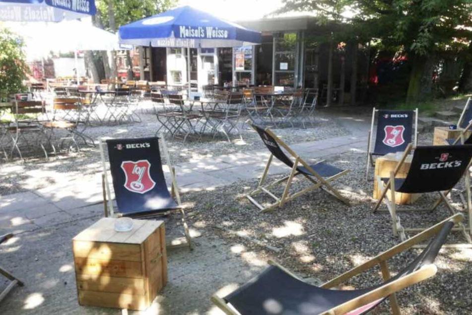 """Das """"Tanzcafe Ilses Erika"""" liegt im Süden von Leipzig."""