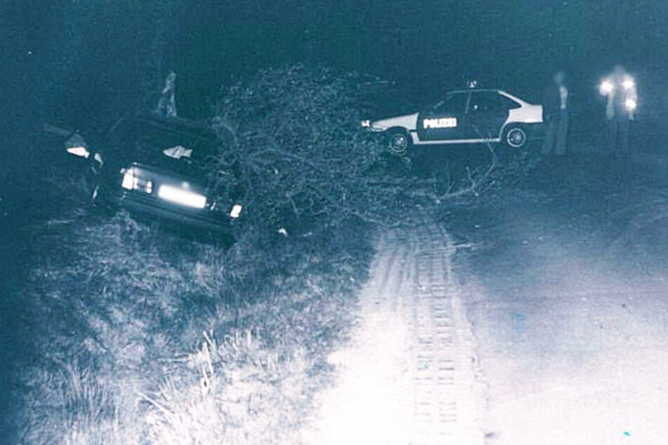 """Das Foto zeigt die vermeintliche """"Unfallstelle"""" im Jahr 1997."""