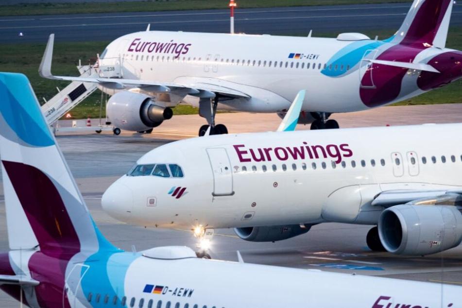 Eurowings hat unter anderem einige Urlaubsziele übernommen.
