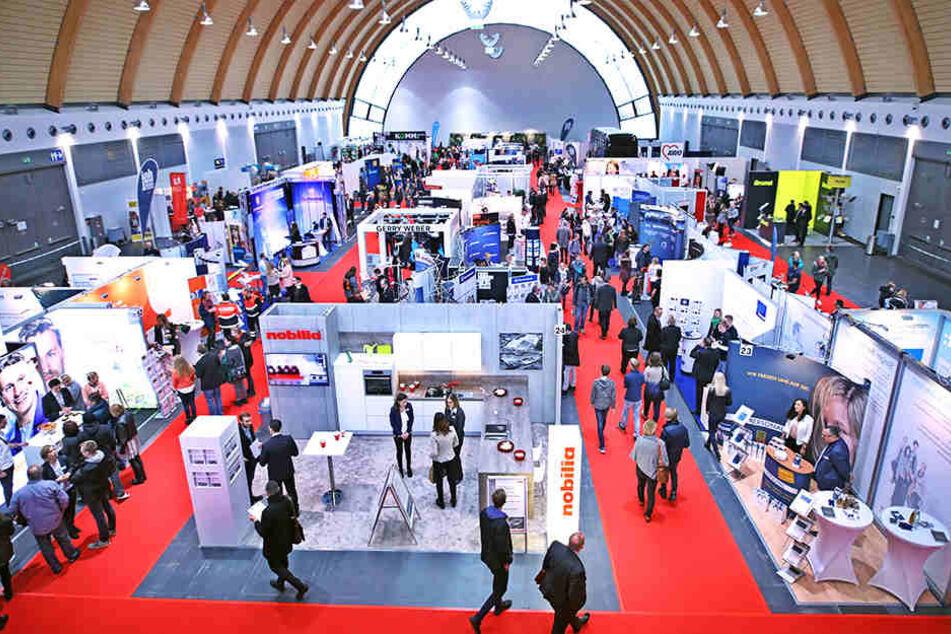 90 Aussteller waren bei der zwölften Auflage der Jobmesse vertreten.