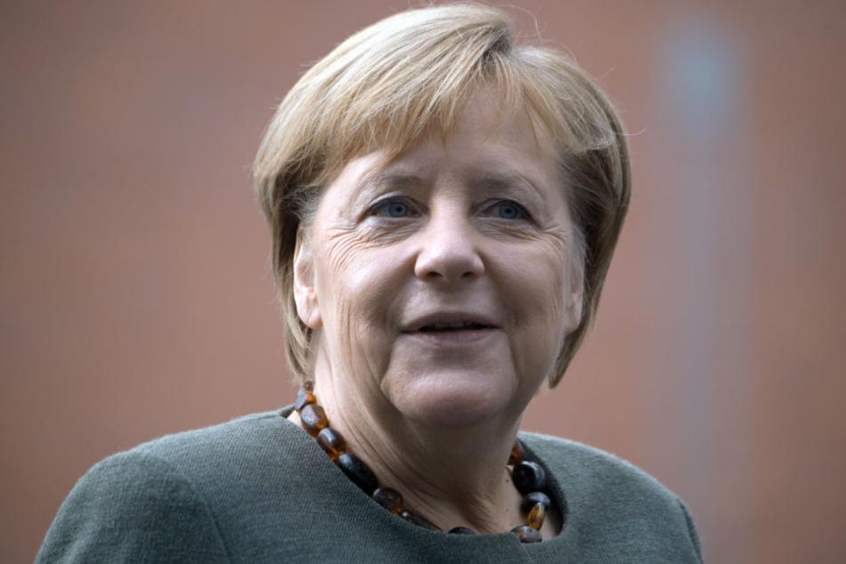 Angela Merkel besucht am Freitag Chemnitz.