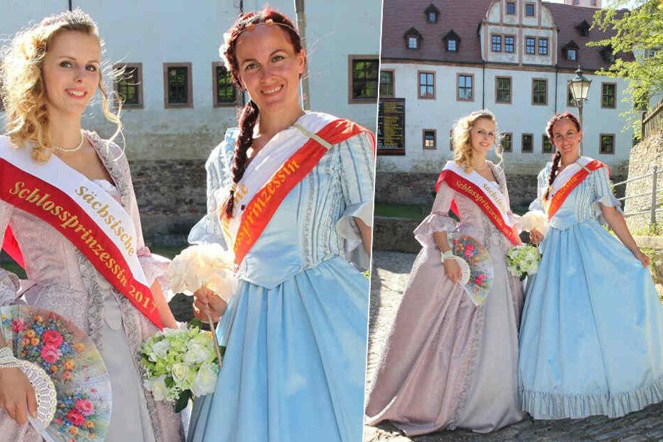 Wird sie die neue Schlossprinzessin? Jeanette Breitsprecher (36,r.) möchte gerne die regierende Hoheit Melanie Schwan (l.) ablösen.
