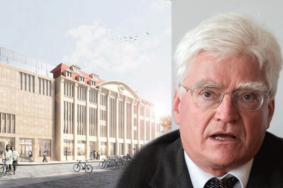 Görlitzer Kaufhaus: Investor wartet auf Baugenehmigung