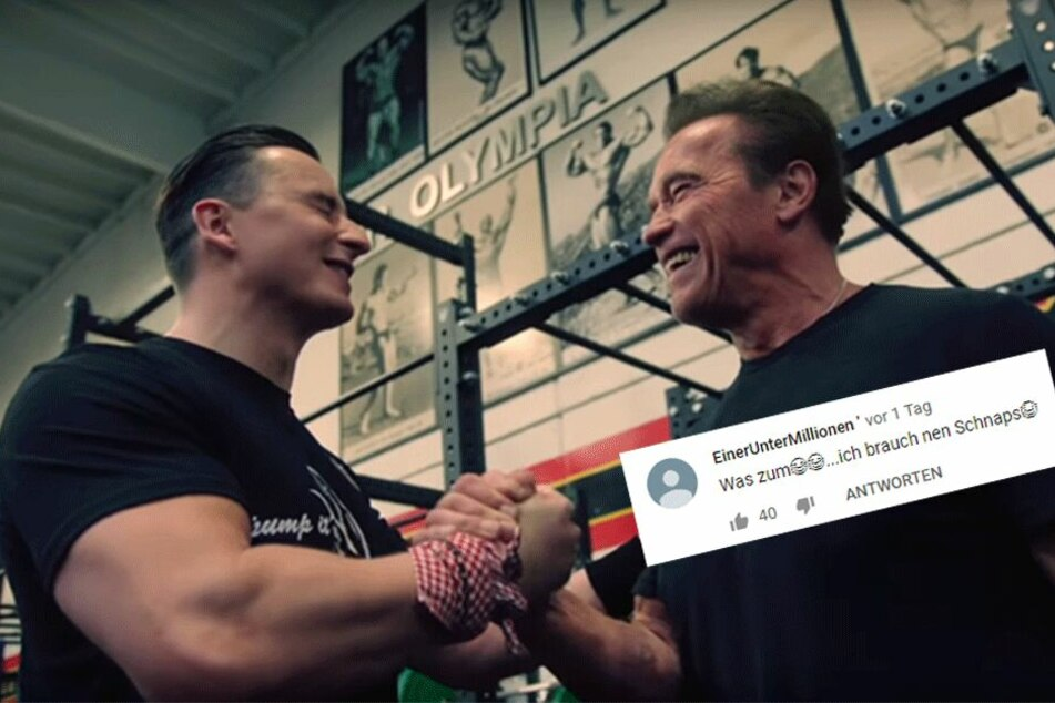Gabalier und Schwarzenegger singen gemeinsam und handeln sich bissige Kommentare ein