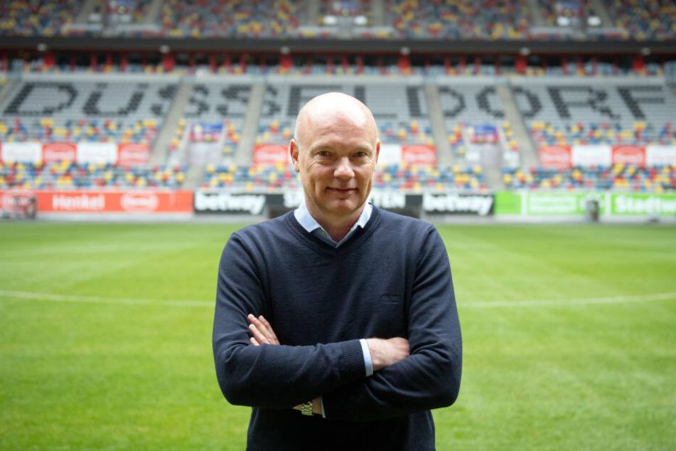 Uwe Rösler (51) trainiert erstmals einen Bundesligisten.