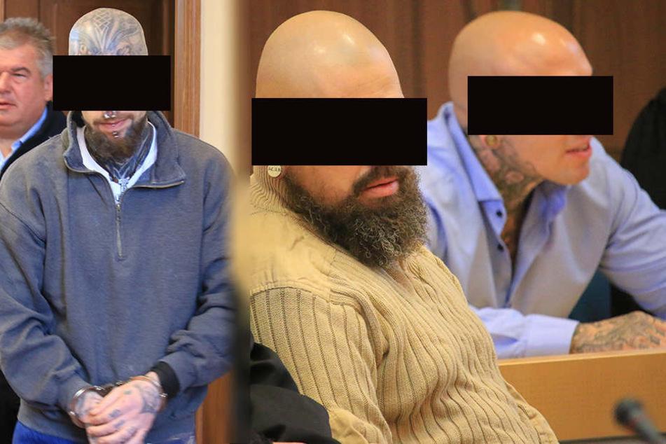 Die drei Angeklagten wurden am Freitag verurteilt.