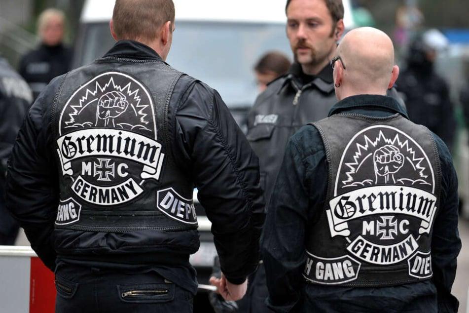 """Rocker verprügeln Polizisten: Gefängnisstrafe für """"Gremium MC""""-Mitglieder"""