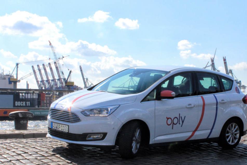 Neu im Hamburger Stadtbild: Mit 100 Autos startet der Carsharing-Anbieter in der Hansestadt.