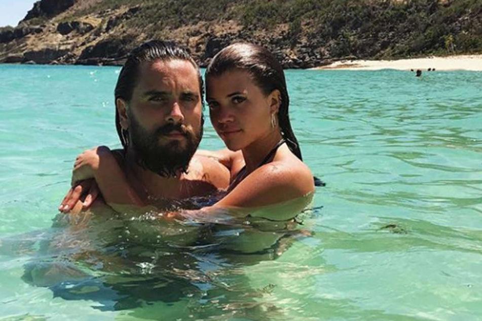 Sofia Richie und Scott Disick zeigen ihre Liebe auch auf Instagram.
