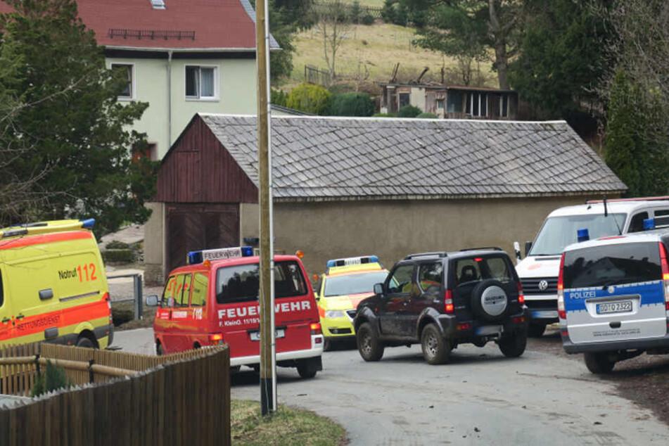 Das Unglück ereignete sich in Kleinolbersdorf-Altenhain.