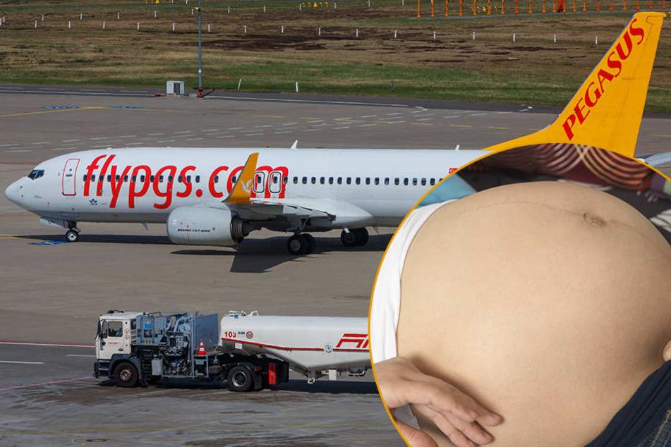 Mithilfe einer Krankenschwester, die zufällig an Bord war, konnte ein Junge zur Welt gebracht werden.
