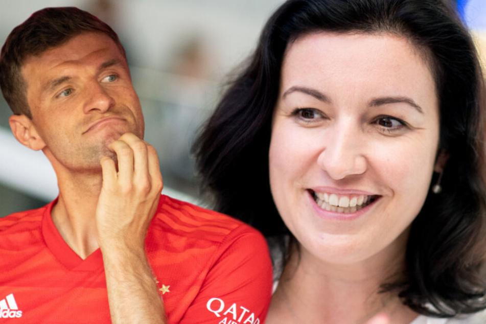 Digitalministerin Bär mag das Instagram-Profil von Bayern-Star Müller