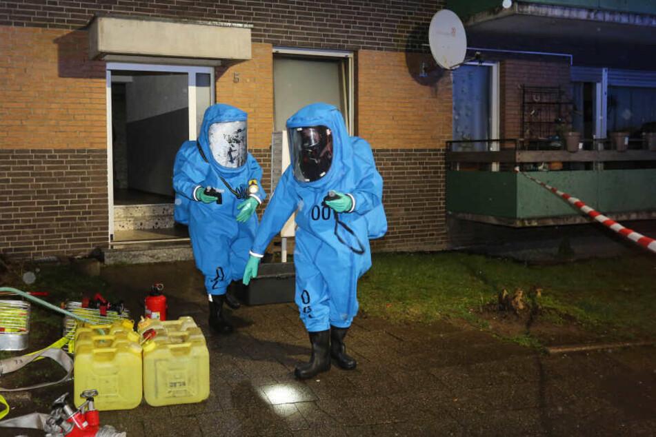 Mysteriös: Feuerwehr findet große Menge Chemikalien bei Routine-Einsatz