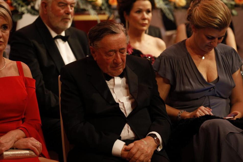 Richard Siegfried Lugner, österreichischer Geschäftsmann und Reality-TV-Star, während des SemperOpernballs.