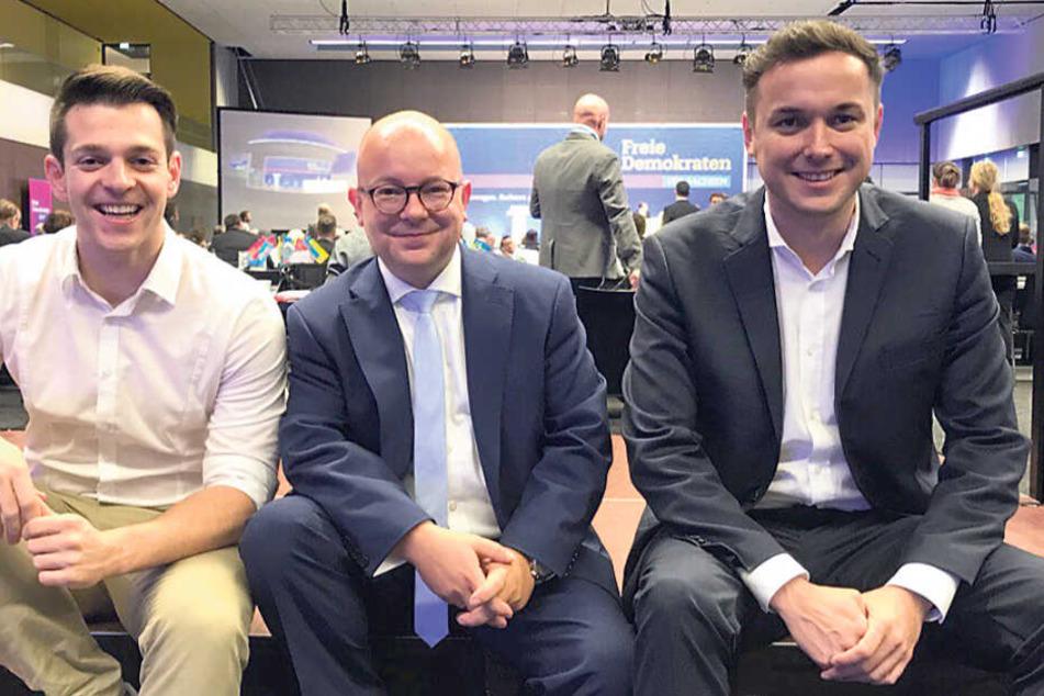 Es kommt nicht auf die Größe an: Neuer FDP-Chef holt Nachwuchs ins Boot