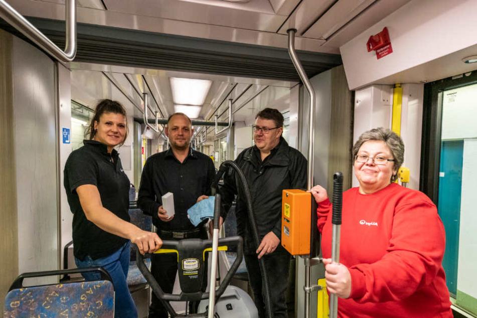 Chemnitz: Wer putzt eigentlich die CVAG-Bahnen?
