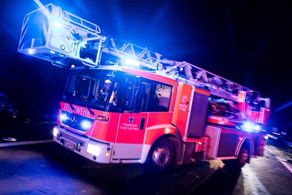 Die Feuerwehr konnte den Brand schnell löschen. (Symbolbild)