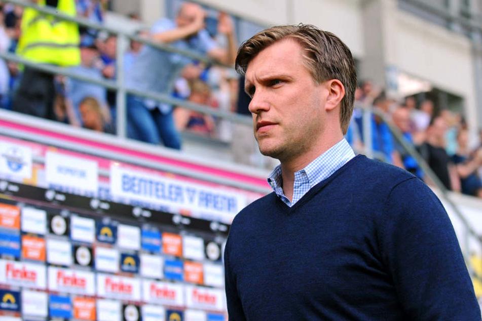 Wie geht es mit SCP-Manager Markus Krösche weiter?