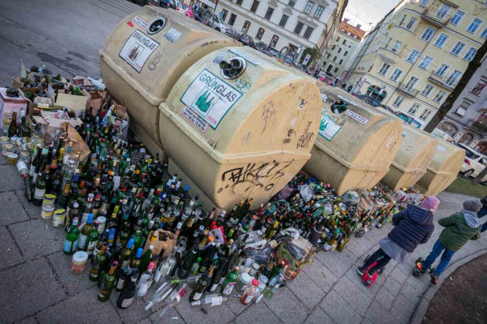 Über 100 Tonnen Müll: Das bleibt nach Silvester zurück