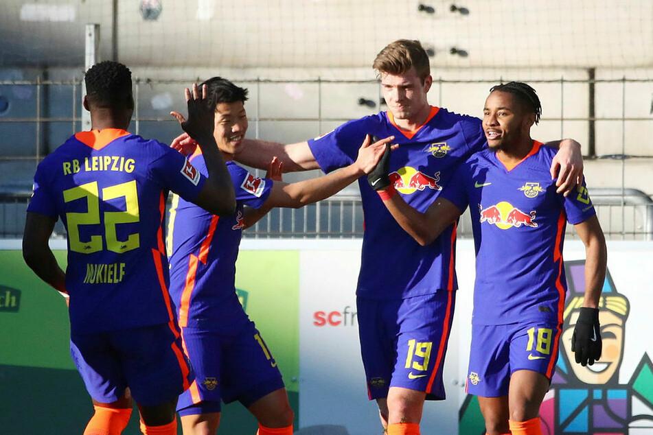 Nach dem klaren 3:0-Erfolg bei Angstgegner SC Freiburg stehen die Sachsen weiter auf der Sonnenseite der Fußball-Bundesliga.
