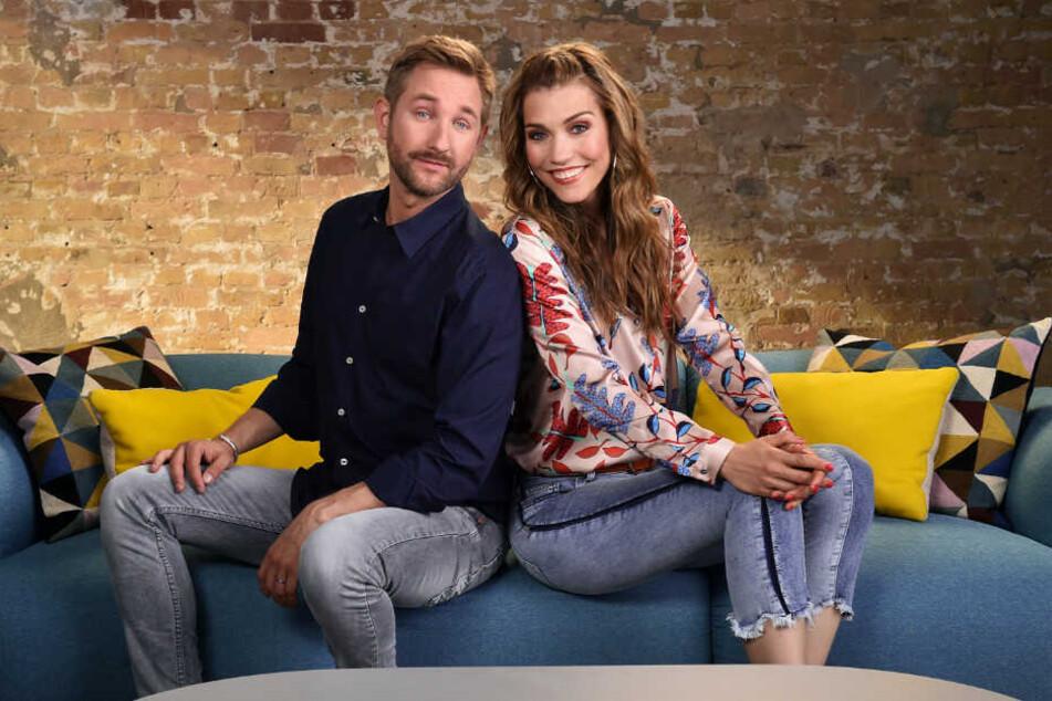 """Seit fast einem Jahr moderieren Daniel Boschmann und Annett Möller die Sat.1-Sendung """"Endlich Feierabend""""."""