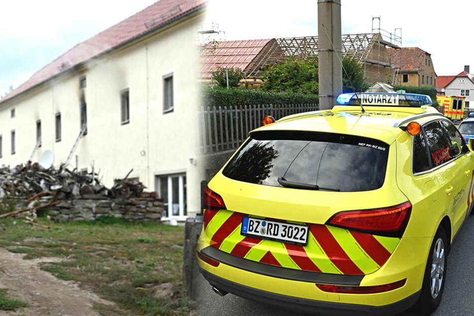 Bei Wohnungsbrand: Feuerwehrleute stoßen auf leblose Person