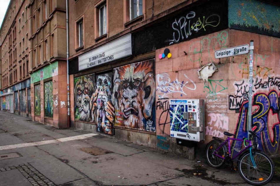 """Opfer und Täter sollen zuvor beide in der """"Zukunft"""" auf der Leipziger Straße gewesen sein."""