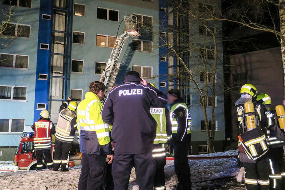 Fünf Wohnungen sind nach dem Brand derzeit unbewohnbar.
