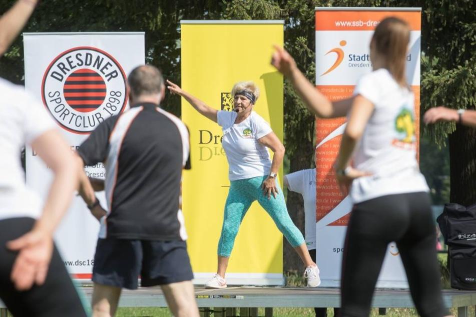 Die Stadt Dresden bietet ab Mittwoch kostenlose Sportkurse im Stadtgebiet an.
