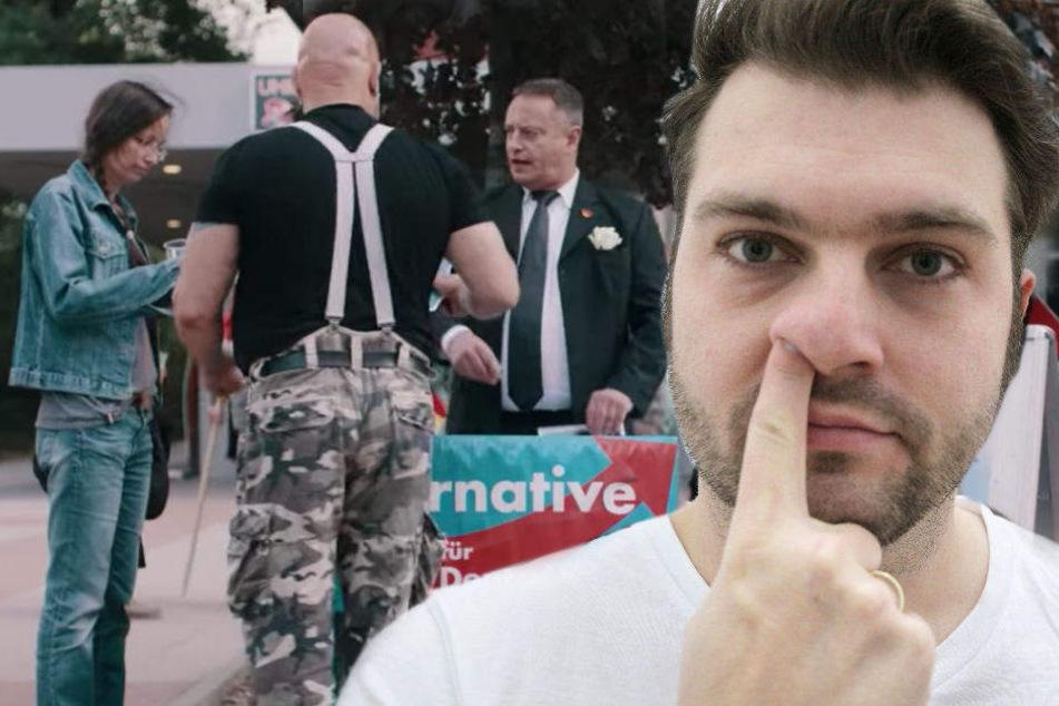 Nach Satire über AfD und Chemnitz: Morddrohungen gegen Schlecky Silberstein