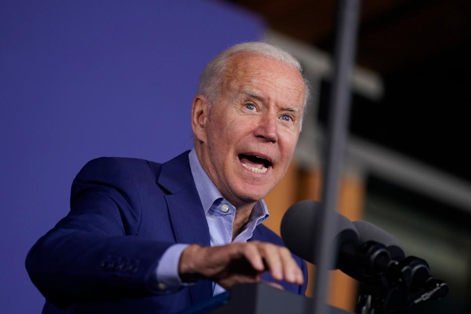 """US-Präsident Joe Biden (78) warnte vor """"einem echten Krieg"""" als Folge von Cyberangriffen."""