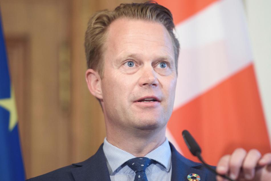 Der dänische Außenminister Jeppe Kofod (46). (Archivbild)
