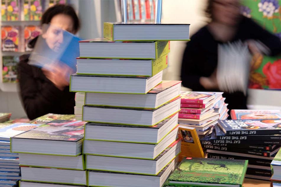 Im letzten Jahr besuchten rund 285.000 Menschen die Leipziger Buchmesse.