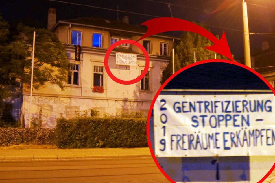 Protest gegen Wohnraum-Irrsinn: Autonome besetzen Haus in der Neustadt