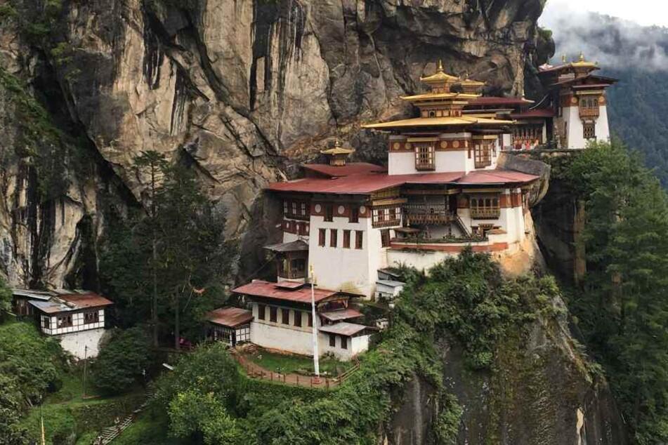 Das buddhistische Kloster Taktsang in Bhutan.