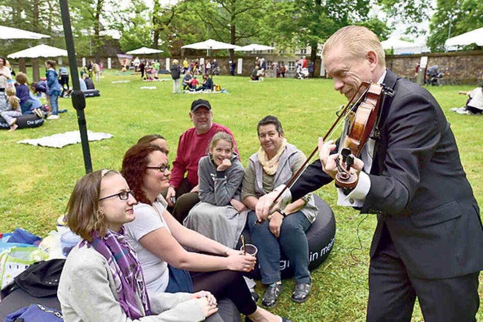 Lecker-schön! Genuss und Musik im Schönherrpark