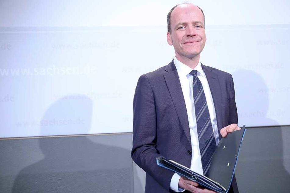 Finanzminister Matthias Haß (50, CDU).
