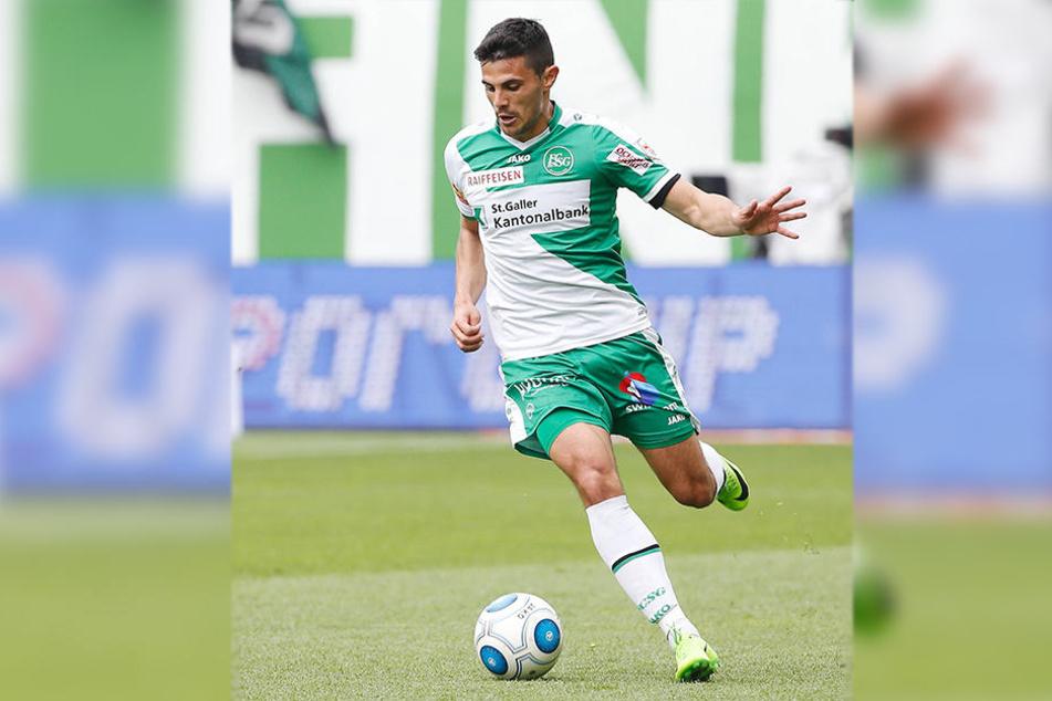 Seit Februar 2015 spielt Danijel Aleksic in St. Gallen.