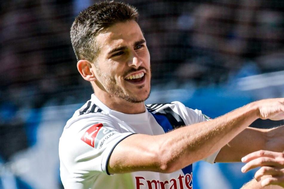 Jairo Samperio fehlt dem HSV in der Offensive.