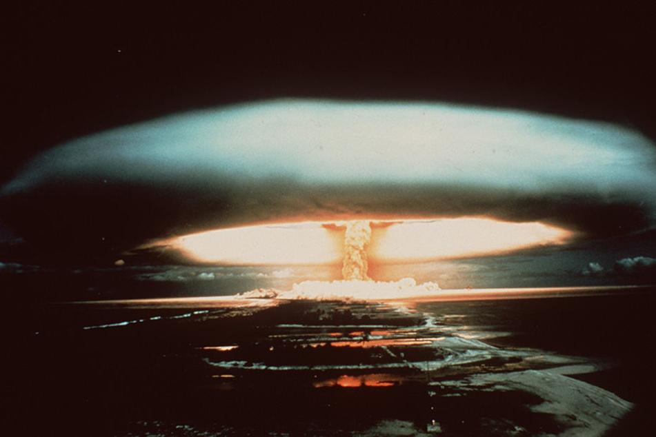 Bastelten Forscher auf Befehl von Adolf Hitler in Oranienburg an der Atombombe? (Symbolbild)