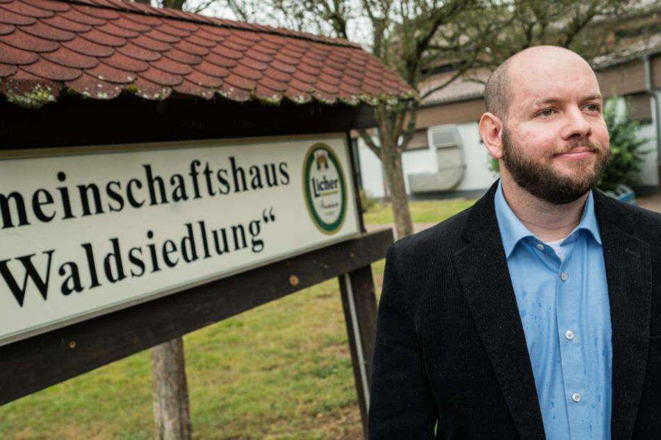 Stefan Jagsch war im September einstimmig zum Ortsvorsteher von Altenstadt-Waldsiedlung gewählt worden.